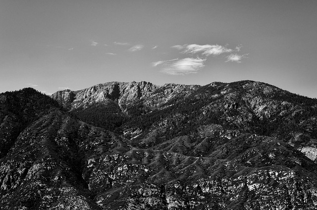 Spanish Mountain BW