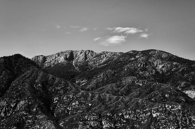 Spanish Mountain BW