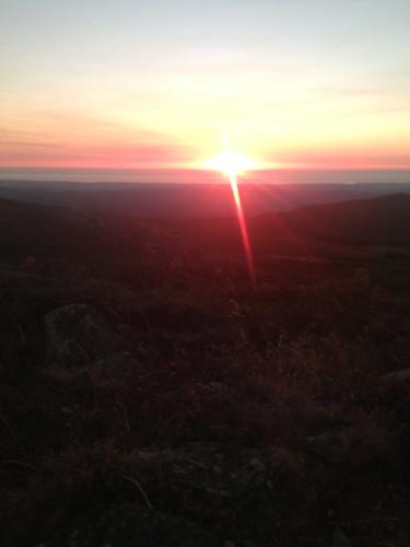 sunset portugal algarve foia