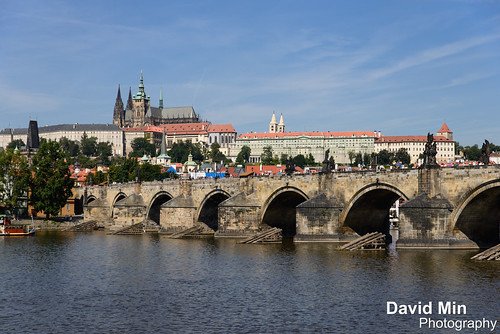 Prague, Czech Republic - Charles Bridge by GlobeTrotter 2000