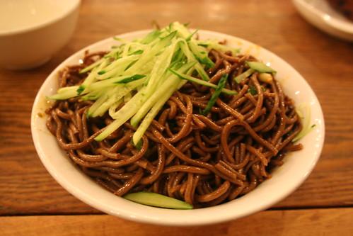 2011-11-24 - Beijing restaurant - 07 - Cold buckwheat noodles