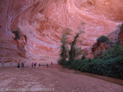 Exploring Coyote Gulch in Grand Staircase-Escalante National Monument, Utah