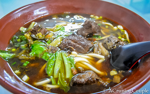 Beef Noodle Soup Taiwan