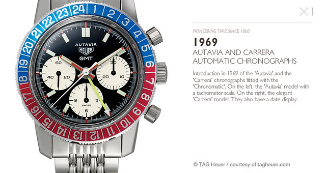 Screengrab from TAG Heuer's website