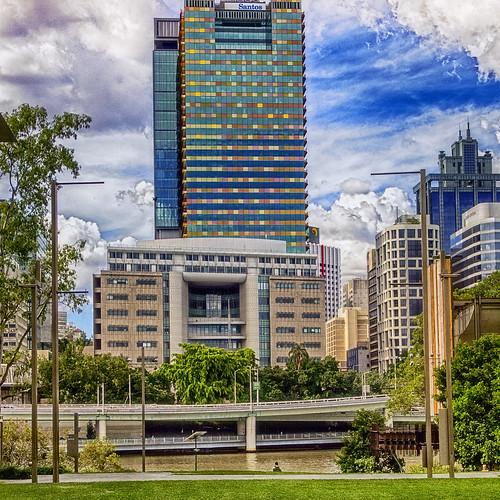 city skyline landscape cityscape australia brisbane queensland cityskyline australiancity highrisebuuildings