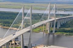 girder bridge, suspension bridge, overpass, bridge, cable-stayed bridge,