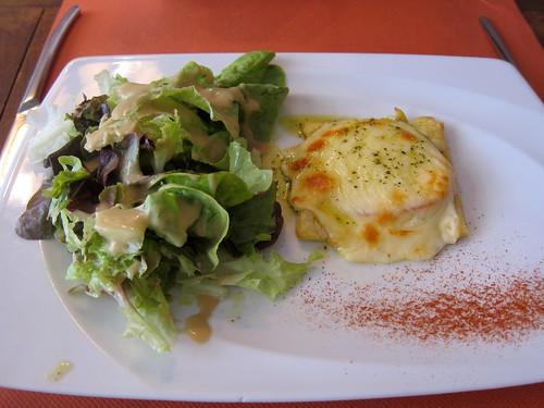 Tarte Mozzarella et Tomate