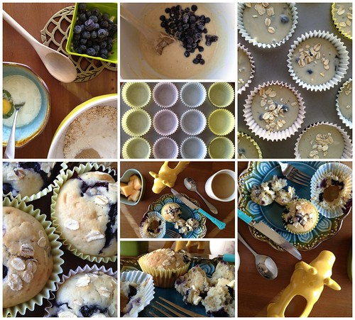 Blueberry Muffin Morning by Heather Says