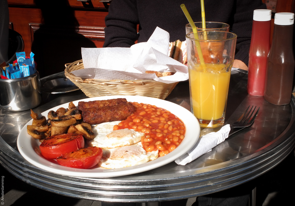 London, English Breakfast (Vegetarian Version)