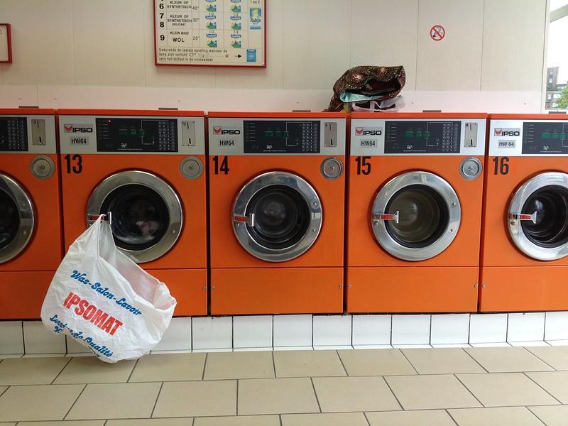 Brussels laundromat