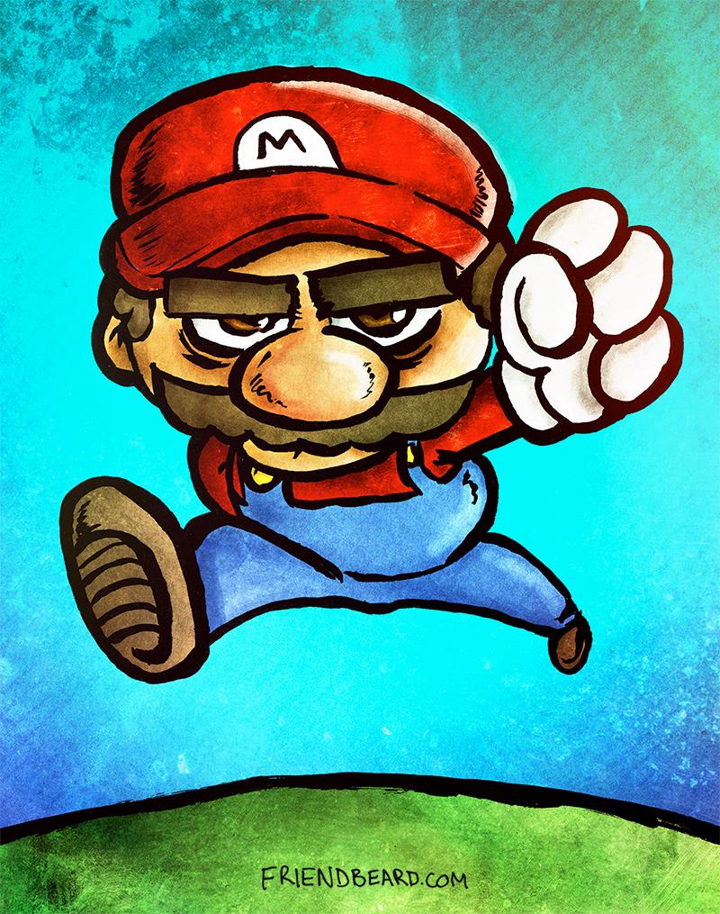 Jaded Mario