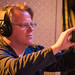 Robert Scoble Capturing Trixie Whitley's Performance at the JBL Synchros Launch Event, Ace Hotel -- New York, NY by Thomas Hawk