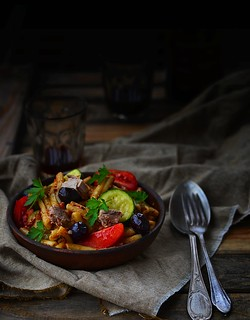 pasta and vegetables salad.6