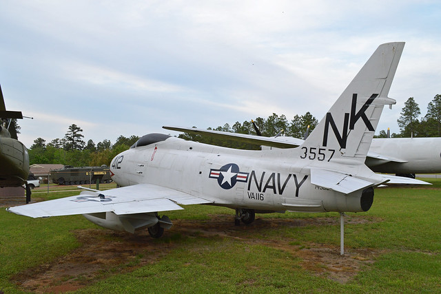 Georgia Veterans State Park, Georgia - This relatively rare Fury carries the markings of US Navy attack unit VA-116. c/n 244-65. On display in the Georgia State Veterans Park. Cordele, Georgia. USA. 17-4-2013