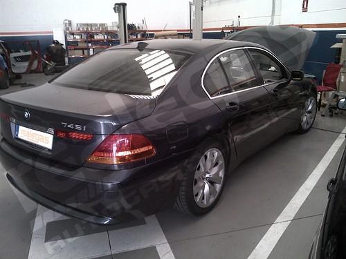 BMW transformado a Autogas por realegas