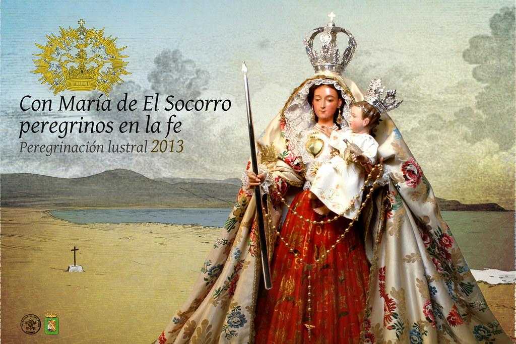 Cartel peregrinación Lustral  2013