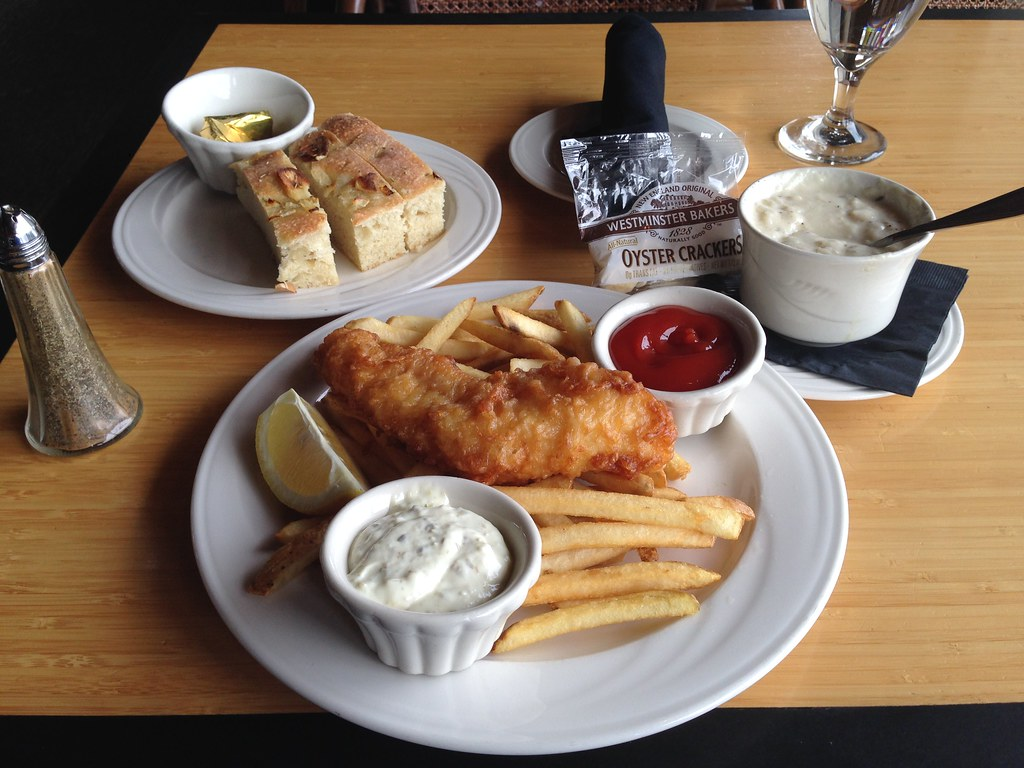 Fish & Chips for lunch