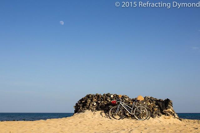 Bikes on a Beach