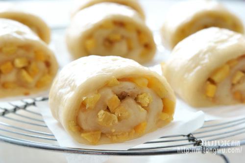 芋絲饅頭+地瓜絲饅頭