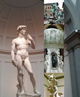 since I have posted so many pictures from Italy, here's a collage of my favorite statues in Florence. #ds106 #visualassignments #visualassignments1674