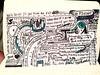 Sketchnotes from the We'll Drive Til We Find An Exit session via @pjvogt. #thirdcoast16