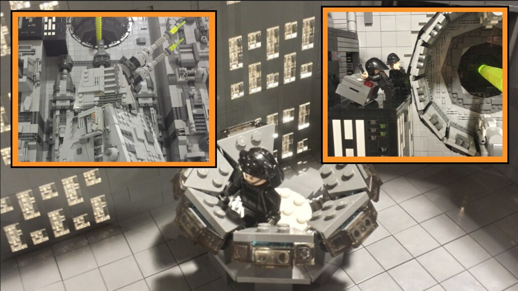 lego star wars death star laser todesstern moc a photo. Black Bedroom Furniture Sets. Home Design Ideas