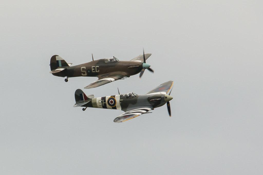 Supermarine Spitfire & Hawker Hurricane