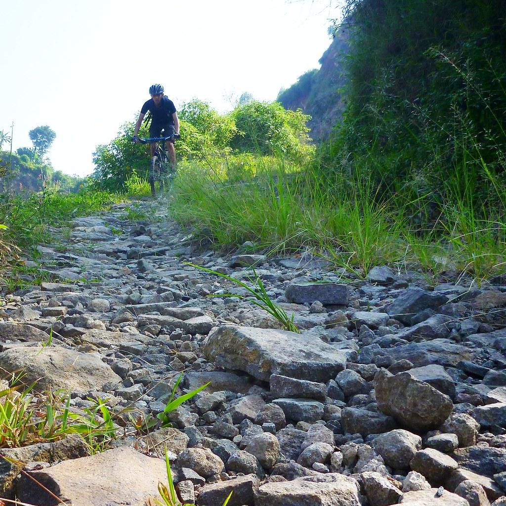 Riding Rigid on Rough Terrain