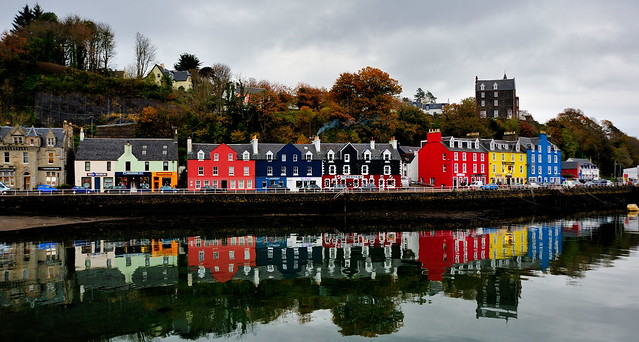 Tobermory reflections