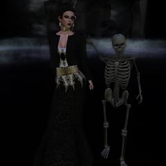 JUMO Marjorie Gown Black_001