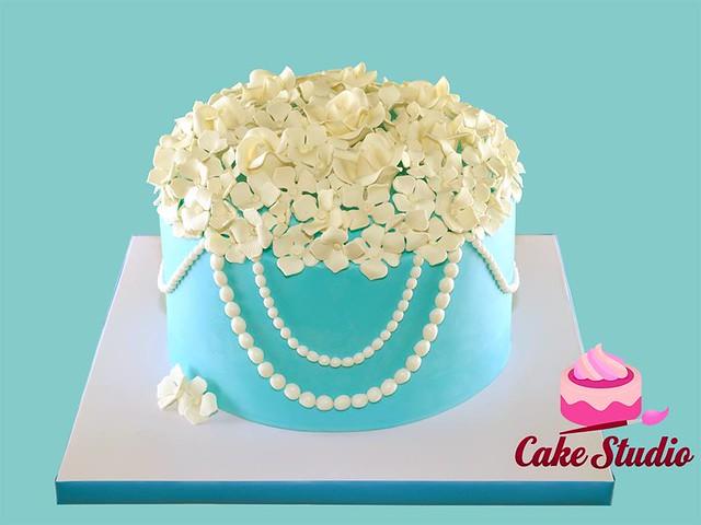 Tiffany's Romance Cake by Cake Studio Doha