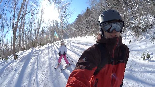 Photo:SAKURAKO and Me - Go Skiing! By MIKI Yoshihito. (#mikiyoshihito)