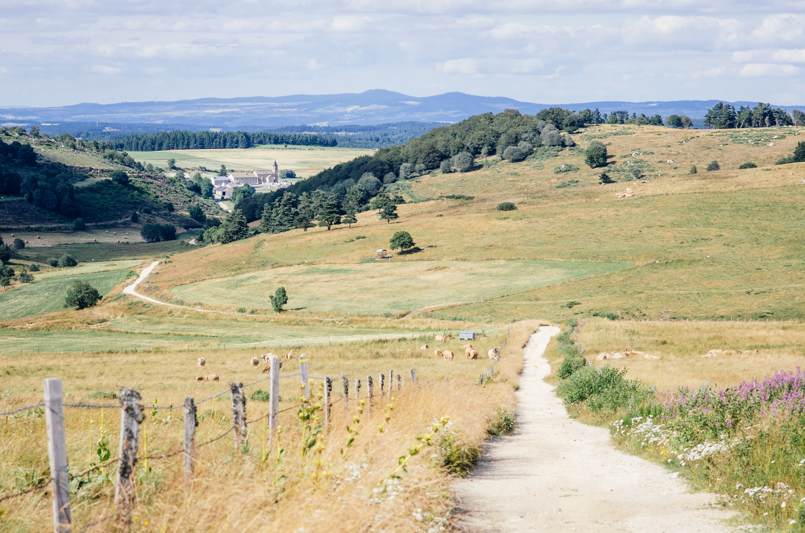 La grande traversée du massif central - Carnet de voyage en France