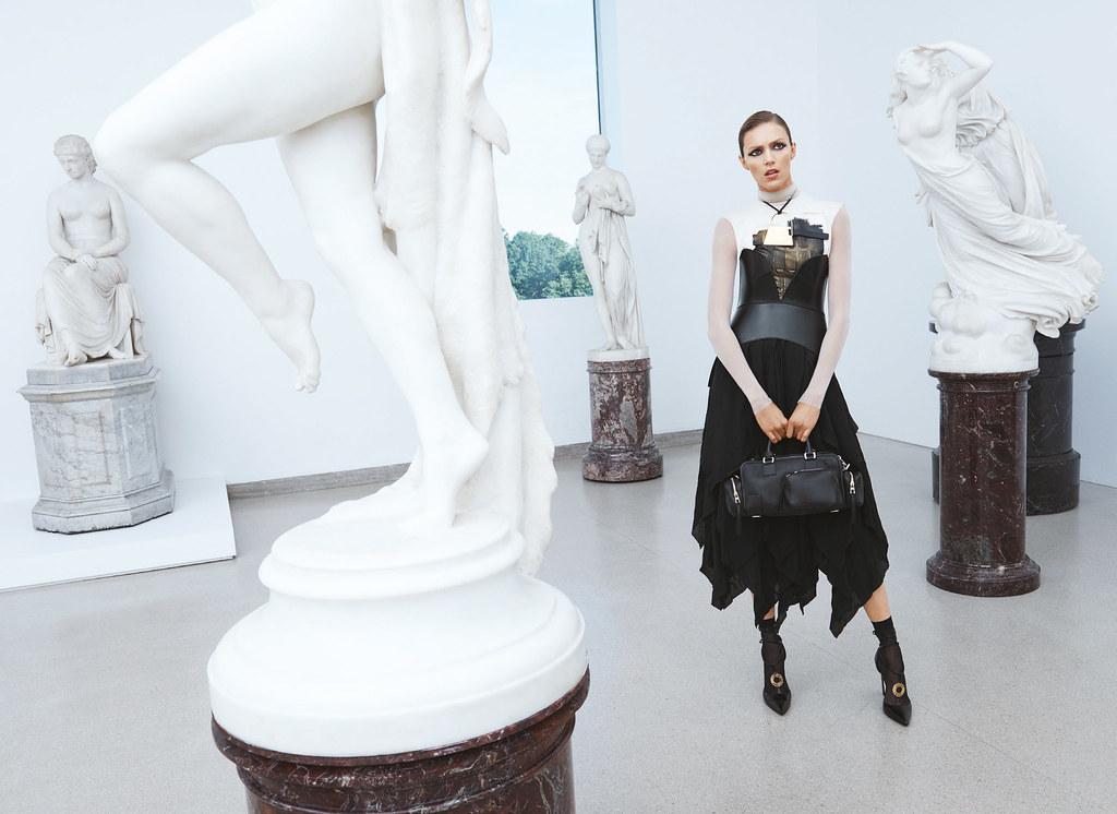 Аня Рубик — Фотосессия для «Bergdorf Goodman» 2016 – 1