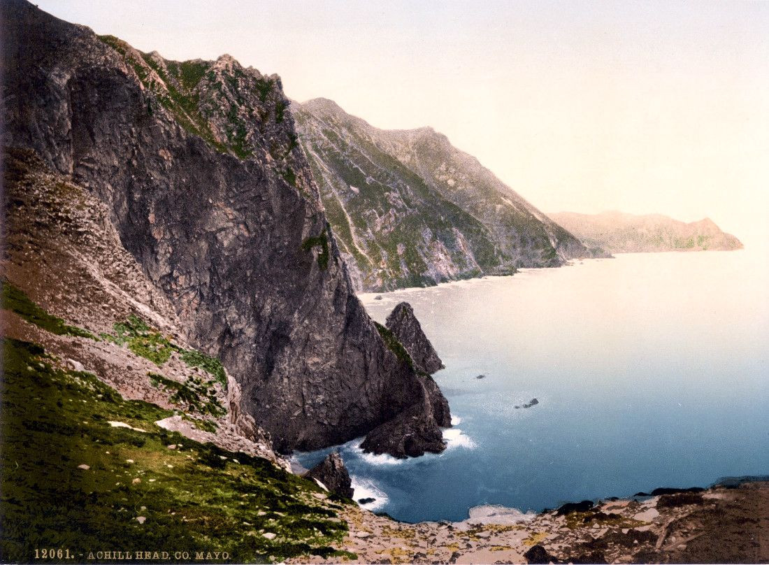 Achill Head. County Mayo, Ireland