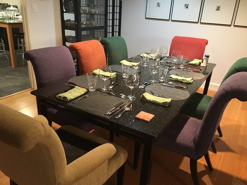 Xgiving tables ready