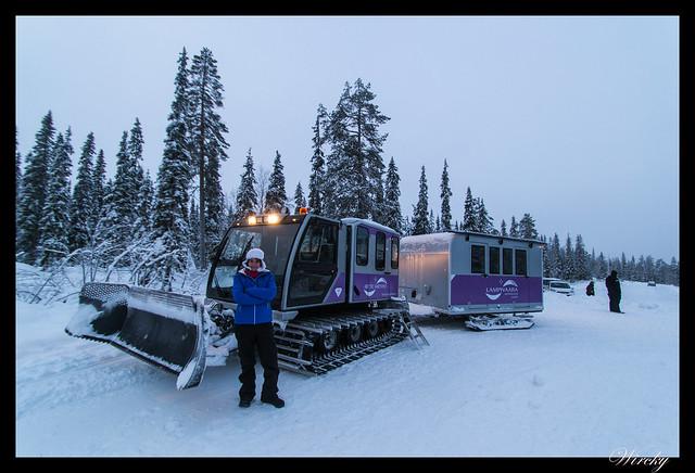 Excursiones Laponia finlandesa invierno - Pendolino a la mina de amatistas