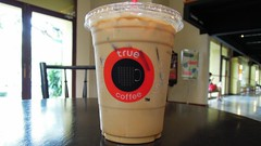 Iced coffee, True Coffee, Rattanakosin Exhibition Hall, Ratchadamnoen Klang Rd, Bangkok