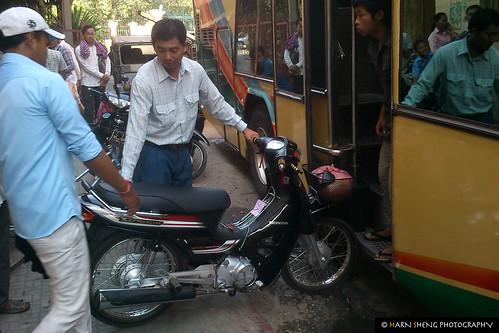 Bike on bus