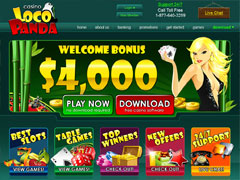 Loco Panda Casino Lobby