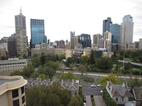 Park Hyatt Melbourne Park Lounge View