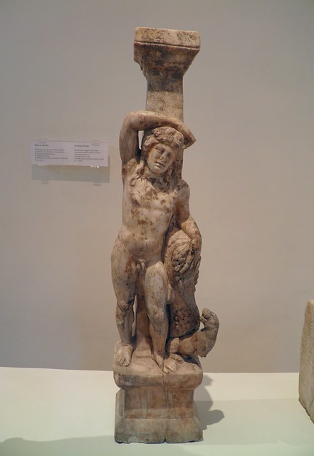 Resting Dionysos, 2nd c. AD, Archaeological Museum, Dion
