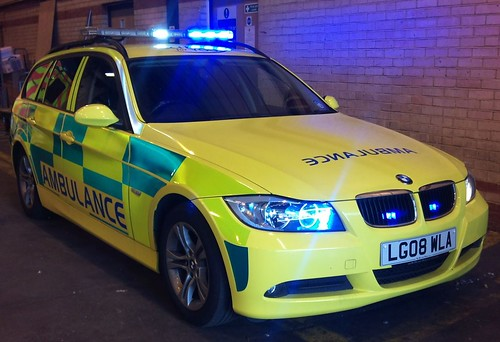 BMW ESTATE PARAMEDIC CAR