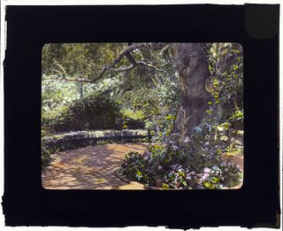 """Glendessary,"" Robert Cameron  Rogers house, Glendessary Lane, Mission Heights, Santa Barbara, California. (LOC)"