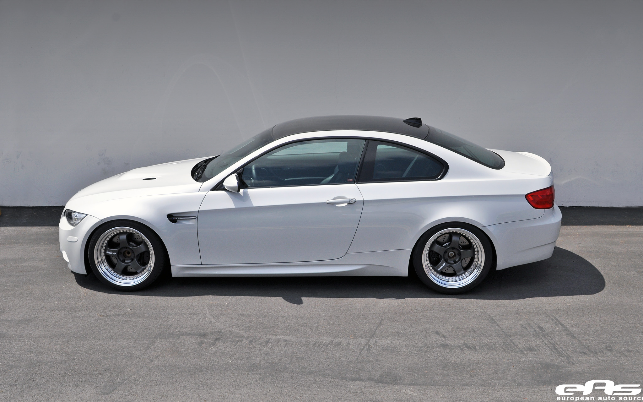 Mineral White E92 M3 With Work Meister S1 3p Wheels Bmw