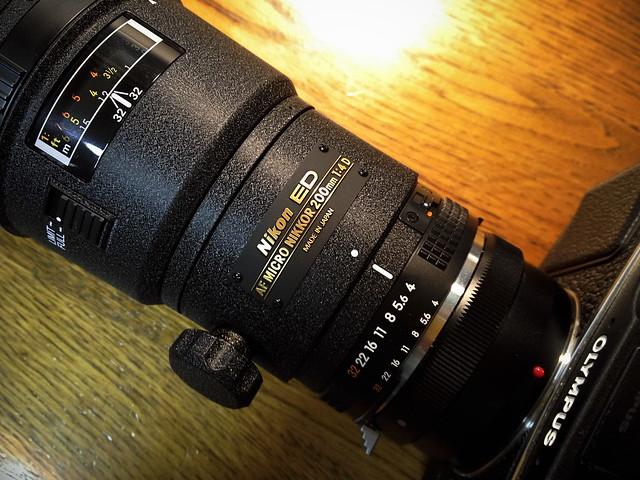 Nikon AF Micro-NIKKOR 200mm f4D IF-ED