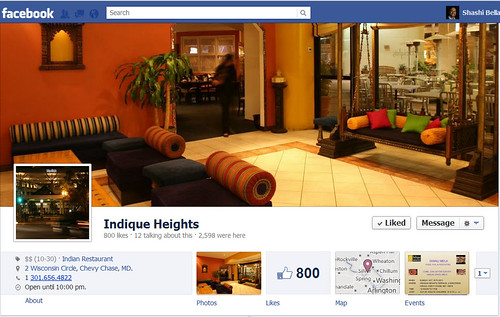 Indique Heights Facebook Page
