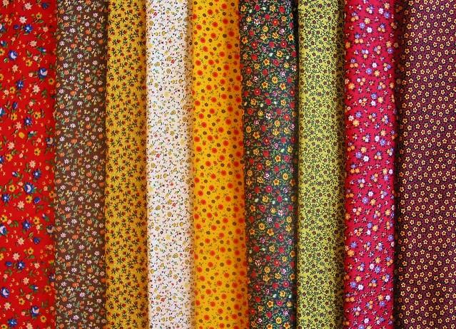 Vintage Calico Fabrics