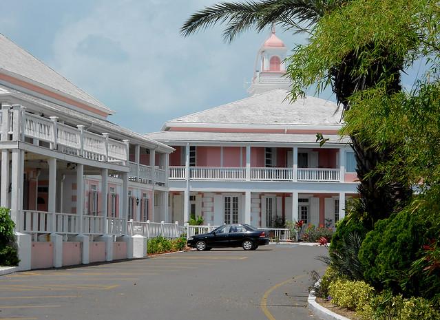 Nassau - Government House (Closeup)