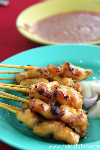 Chicken Satay, Restoran Fatty Crab